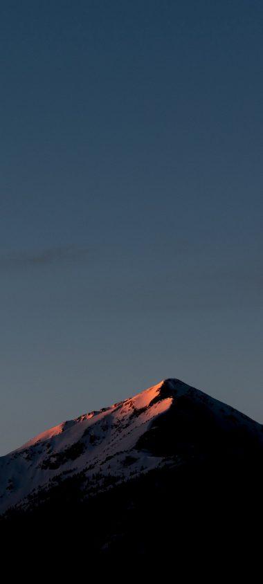 Mountains Sky Top 1080x2400 380x844