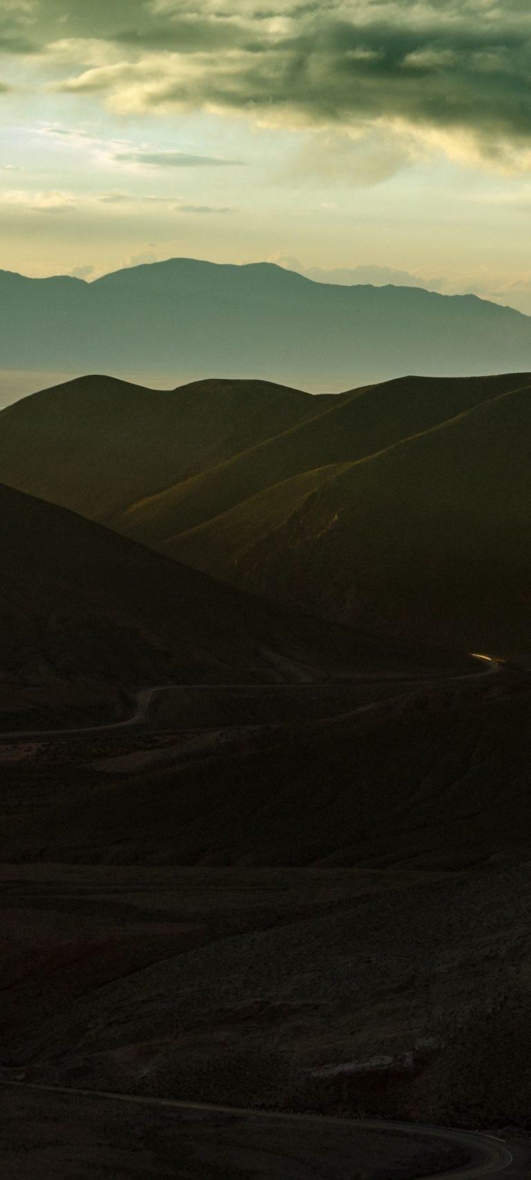 Mountains Skyline Panorama 1080x2400 768x1707