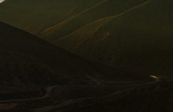 Mountains Skyline Panorama Wallpaper 1440x3040 340x220