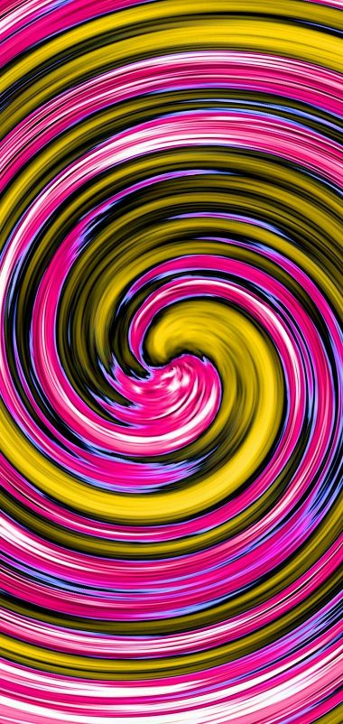 Multi Colored Spiral Wallpaper 1440x3040 380x802