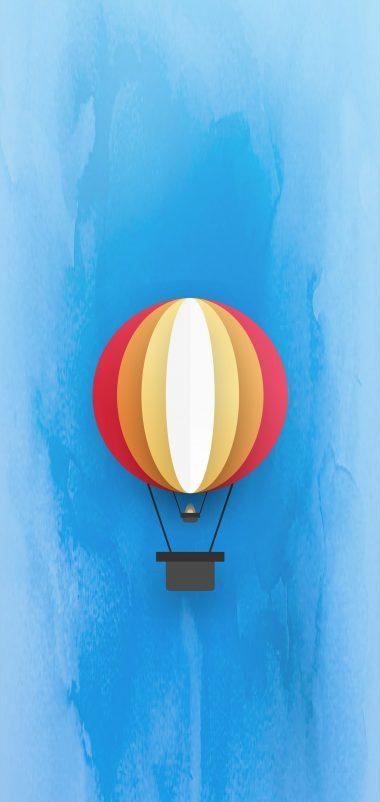 Parachute Minimal Wallpaper 1440x3040 380x802