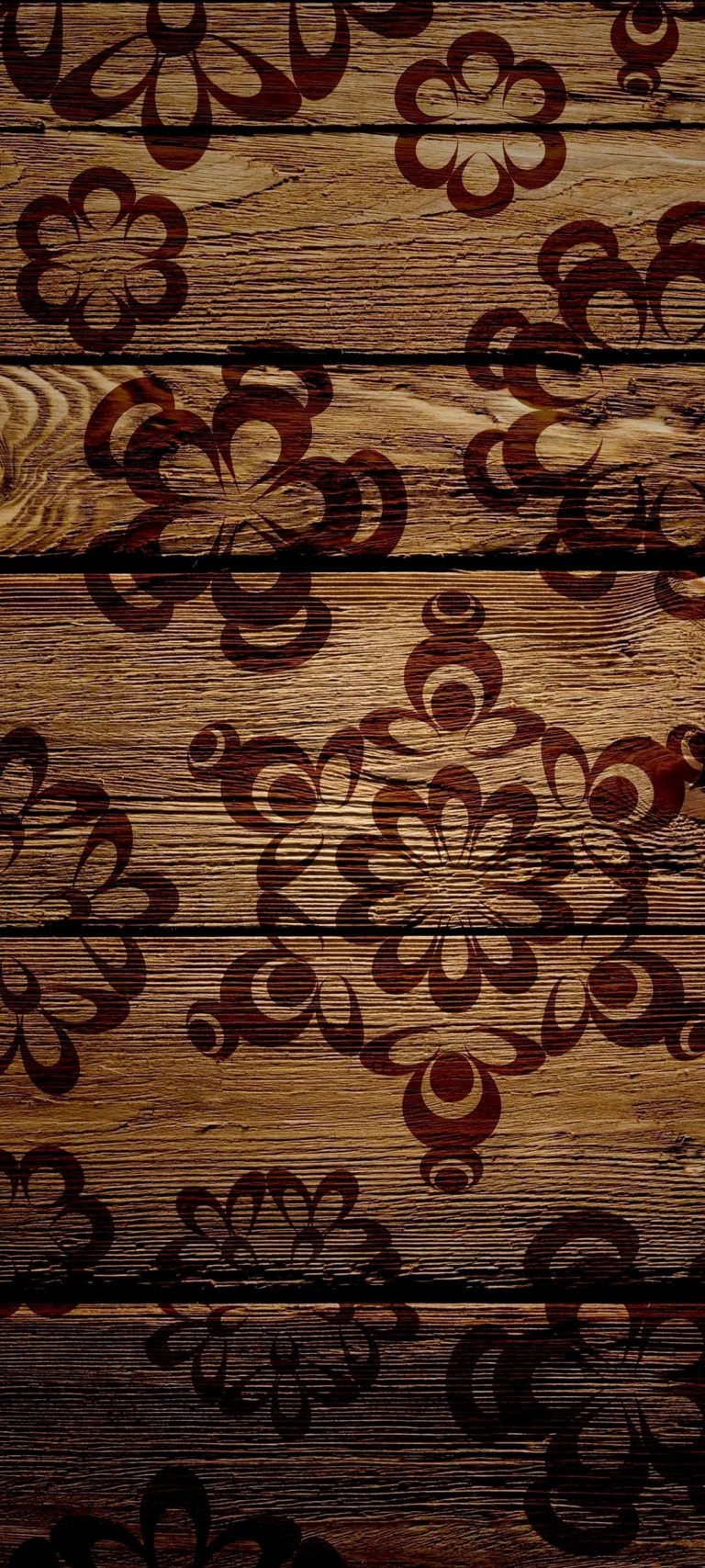 Patterns Surface Color Texture Wood 1080x2400 768x1707