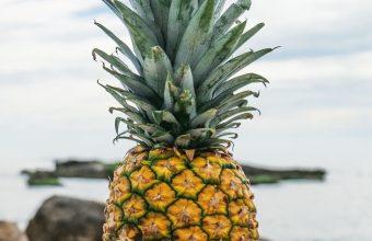 Pineapple Rocks Beach Wallpaper 1440x3040 340x220