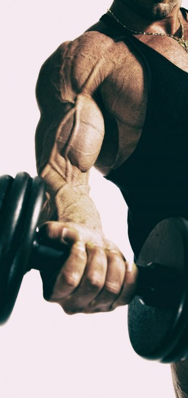 Pushup Body Building Dumbells Wallpaper 1440x3040 380x802