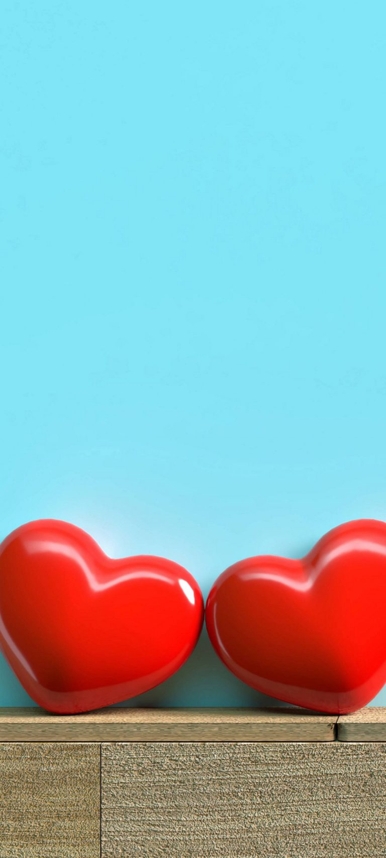 Red Hearts Love 1080x2400 768x1707