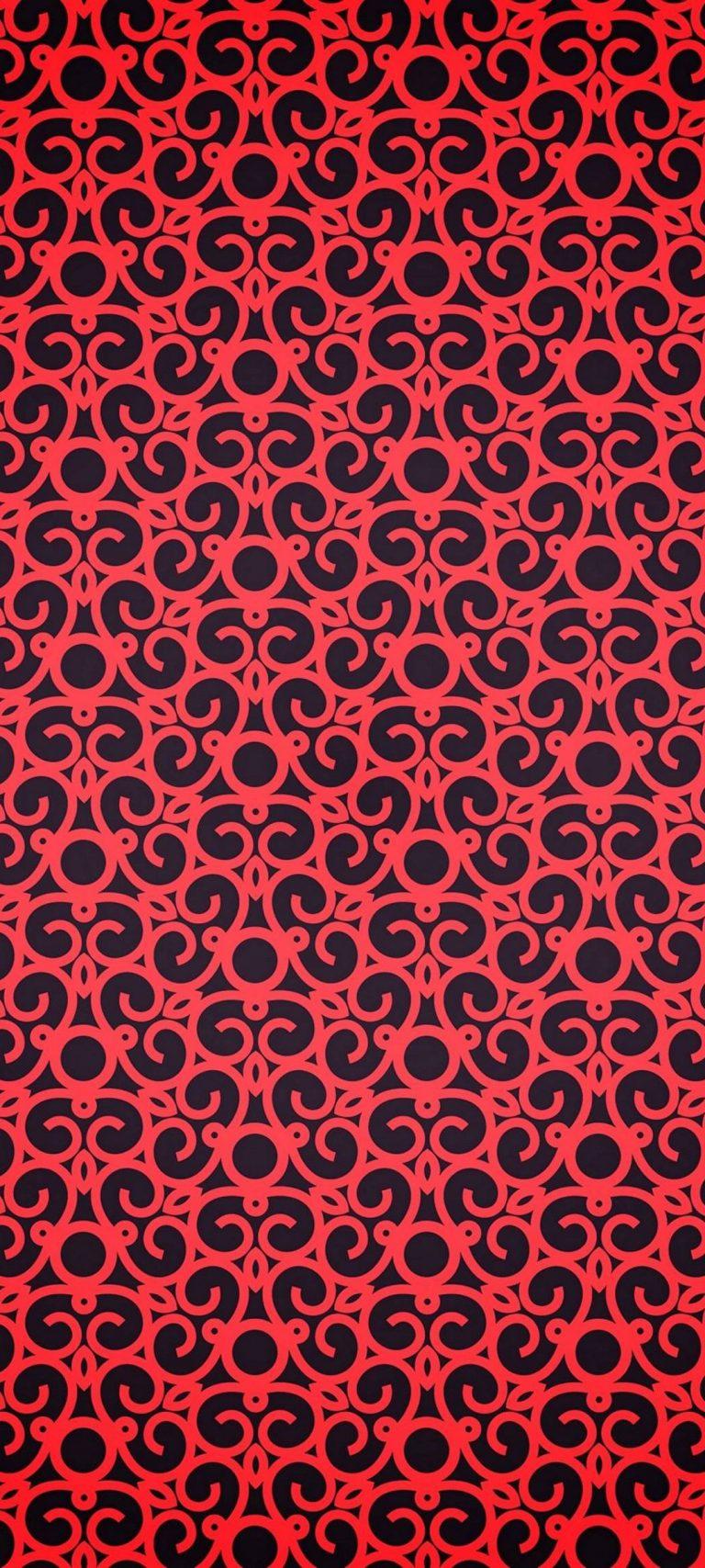 Red Pattern Texture 1080x2400 768x1707