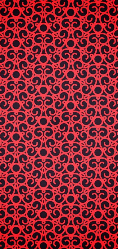 Red Pattern Texture Wallpaper 1440x3040 380x802