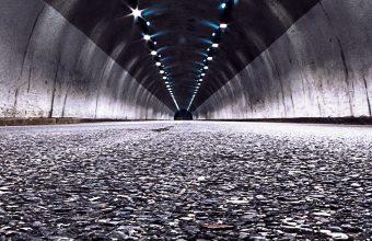 Road Tunnel Night Wallpaper 1440x3040 340x220