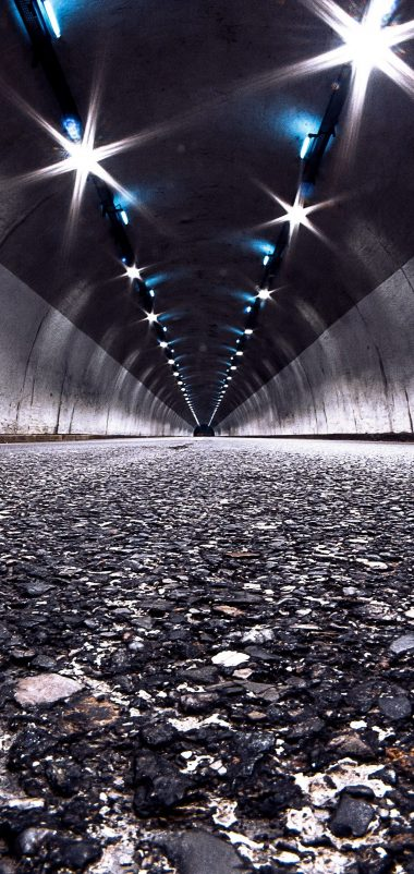 Road Tunnel Night Wallpaper 1440x3040 380x802