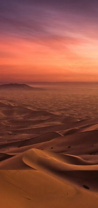 Sand Desert Evening Decline Wallpaper 1440x3040 380x802