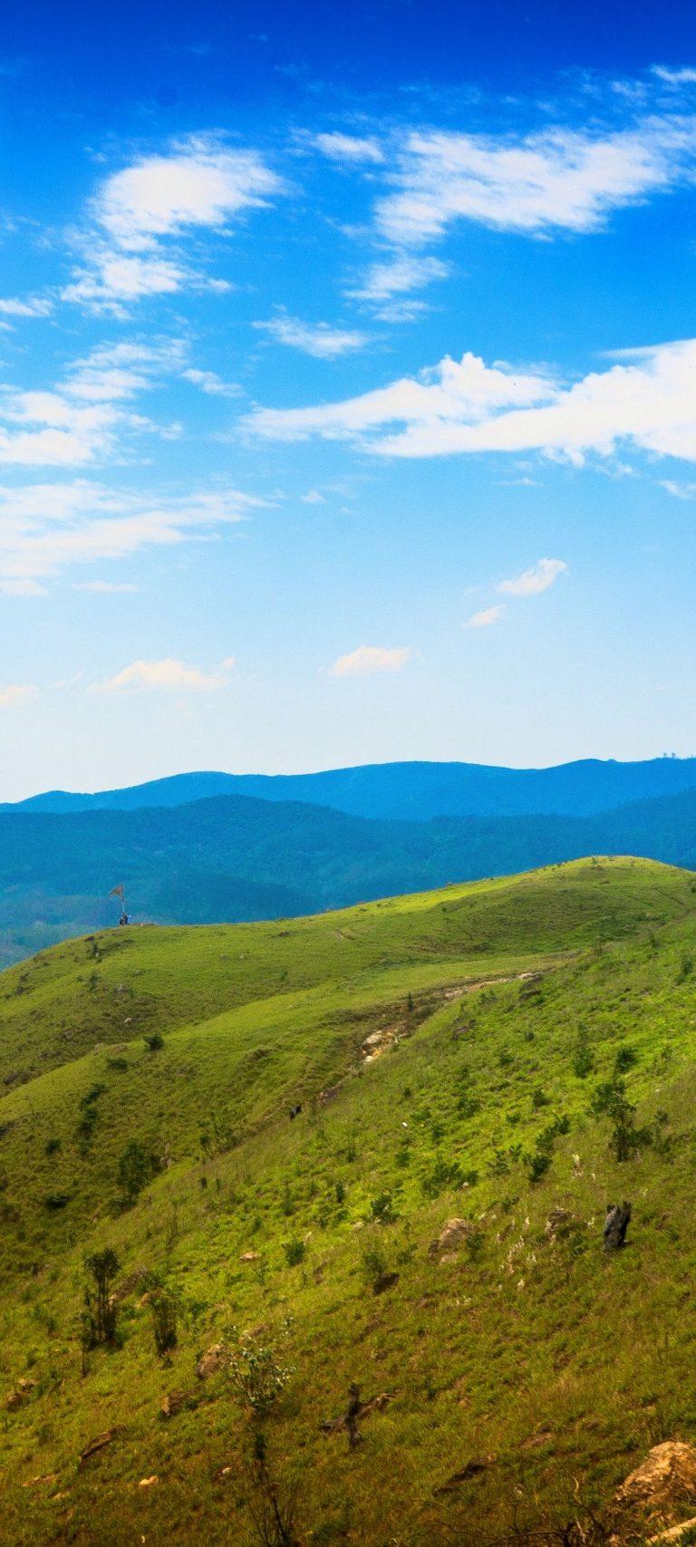 Sao Paulo Brazil Mountains Sky Grass 1080x2400 768x1707