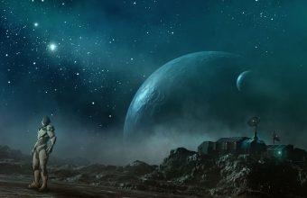 Sci Fi Wallpaper 040 2560x1600 340x220