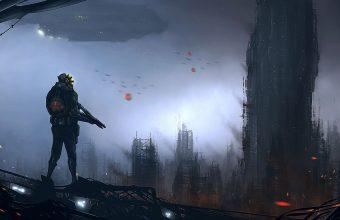 Sci Fi Wallpaper 044 3574x1630 340x220