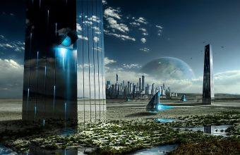 Sci Fi Wallpaper 045 1920x1080 340x220