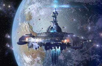 Sci Fi Wallpaper 097 1920x1051 340x220