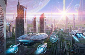 Sci Fi Wallpaper 114 2824x1080 340x220