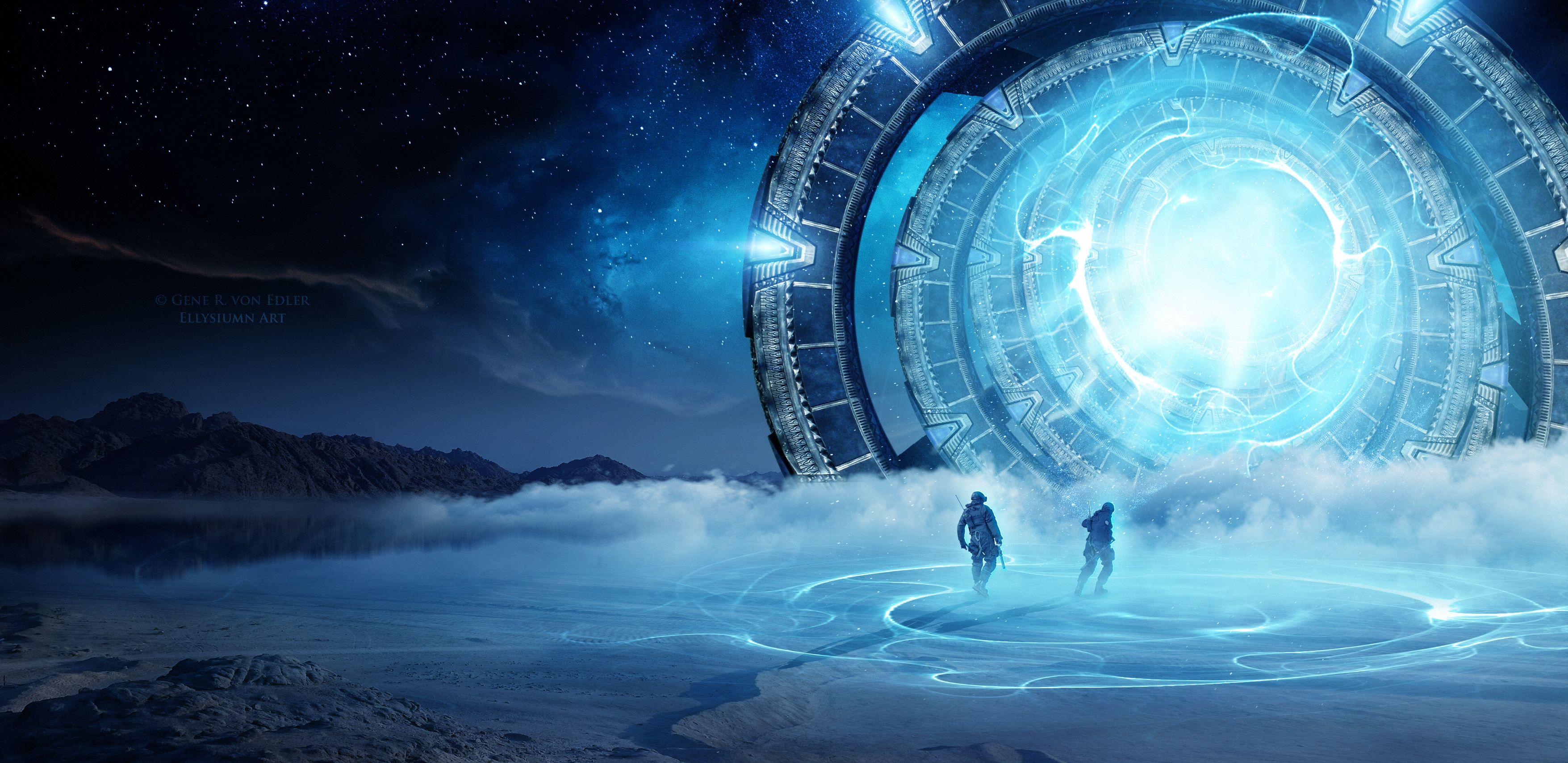 Sci Fi Wallpaper 142 3511x1708