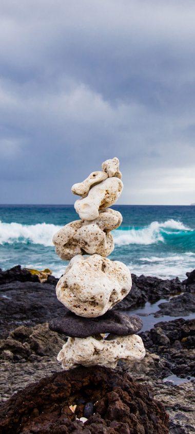 Sea Beach Stones 1080x2400 380x844
