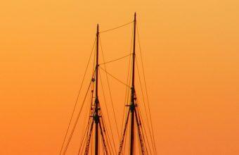 Sea Sailboat Horizon Wallpaper 1440x3040 340x220