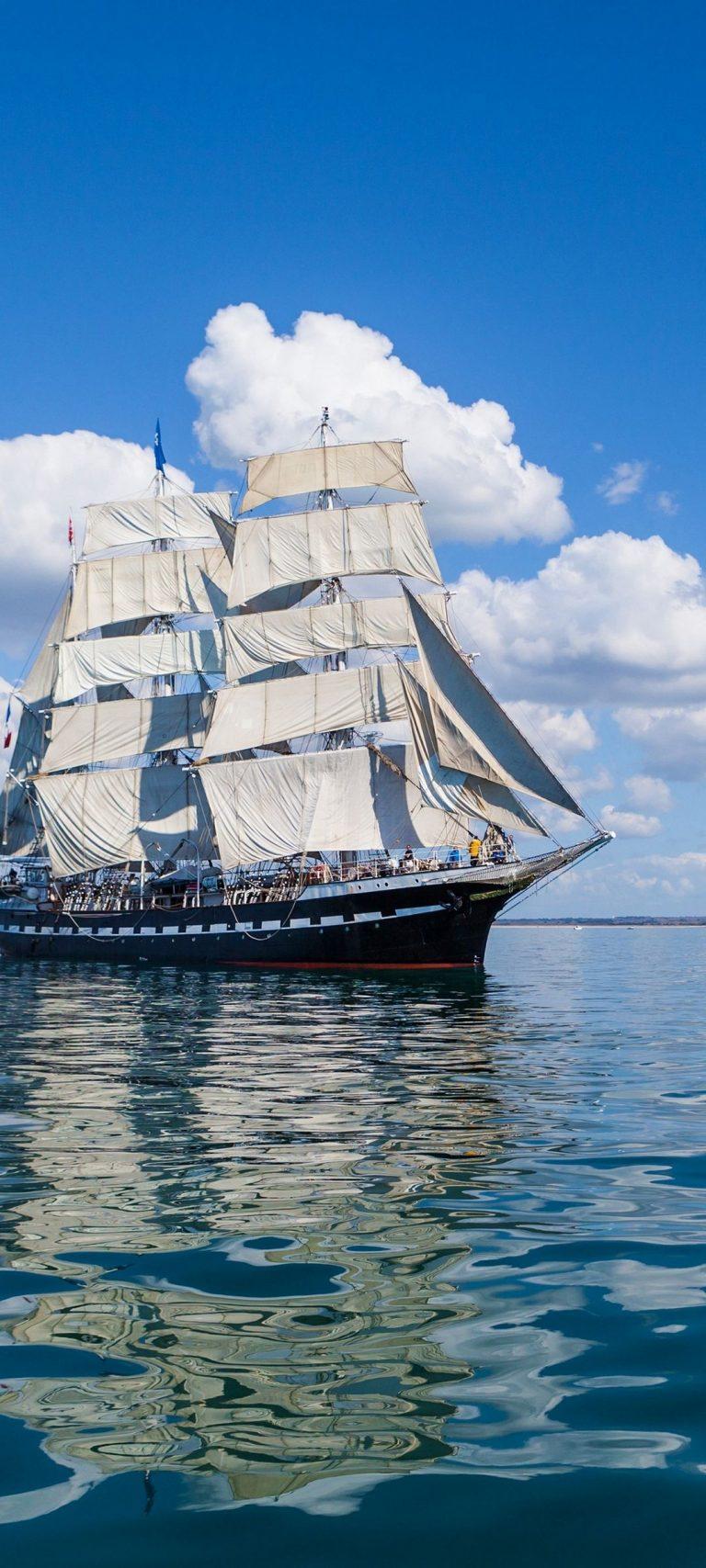 Ship Sea Sky Sail 1080x2400 768x1707