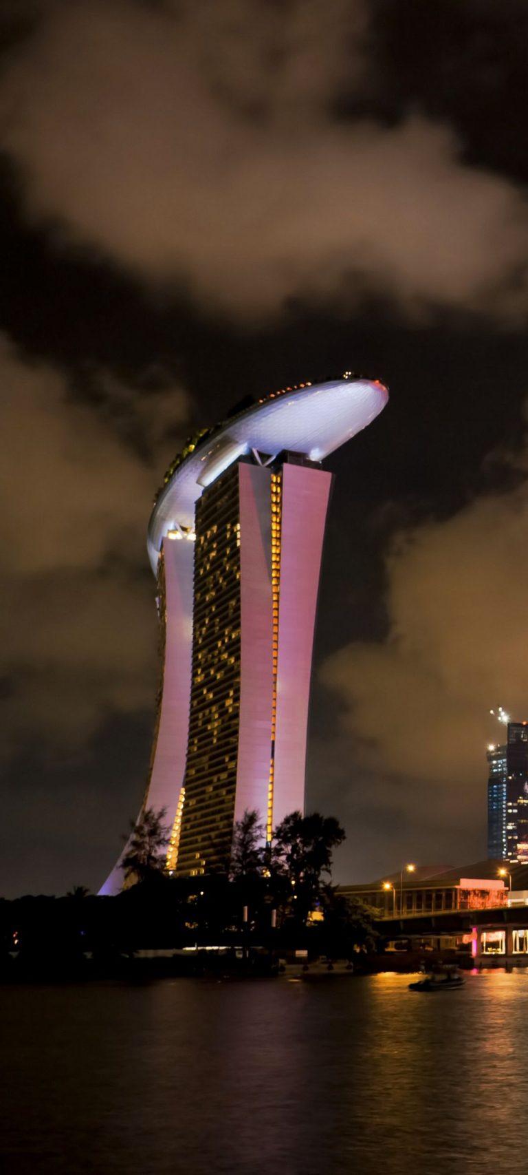 Singapore Holiday Fireworks Bridge 1080x2400 768x1707