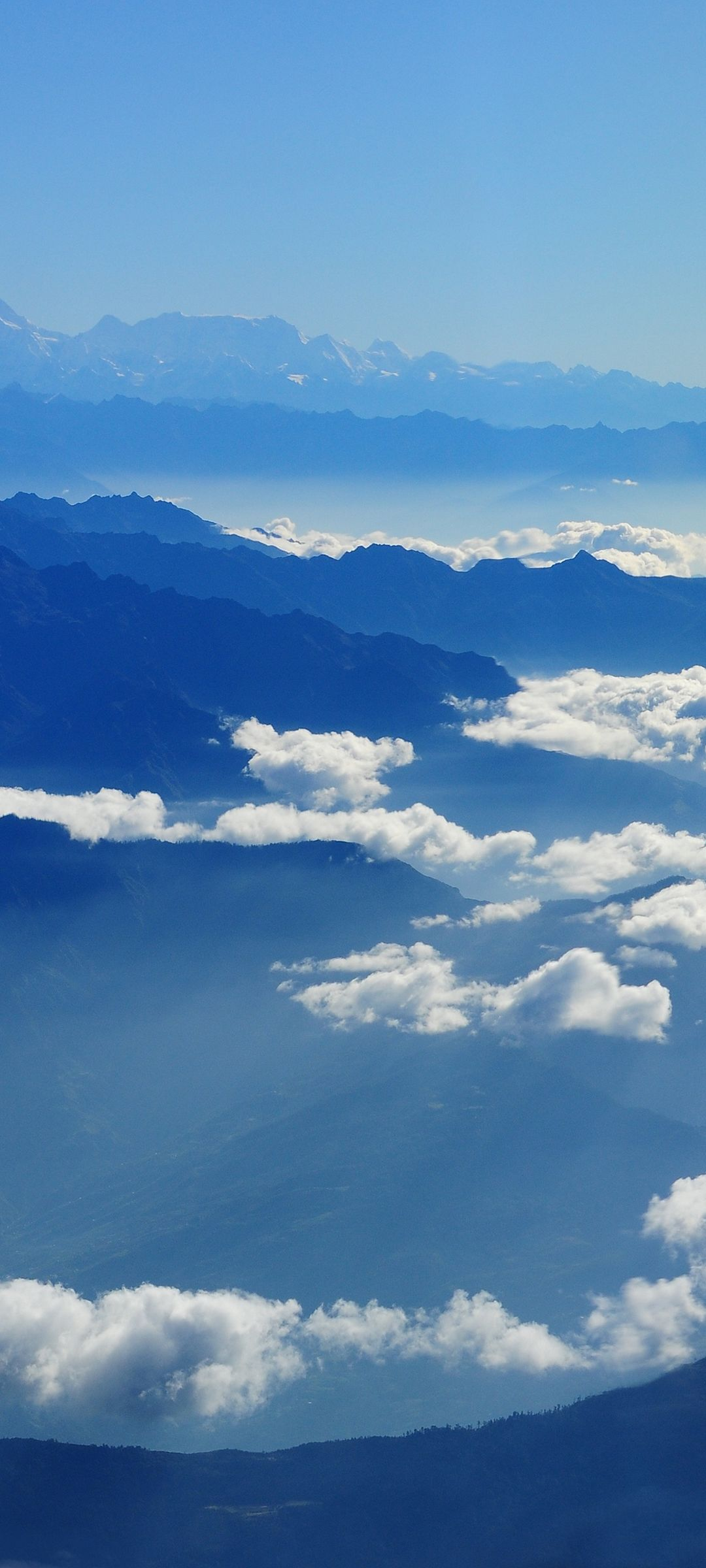 Sky Clouds Mountains