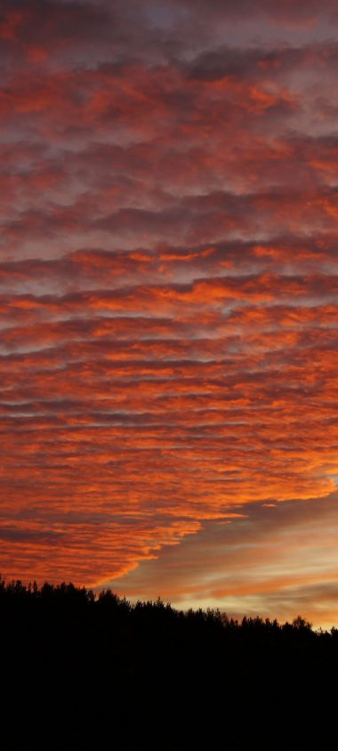 Sky Clouds Sunset Beautiful 1080x2400 380x844