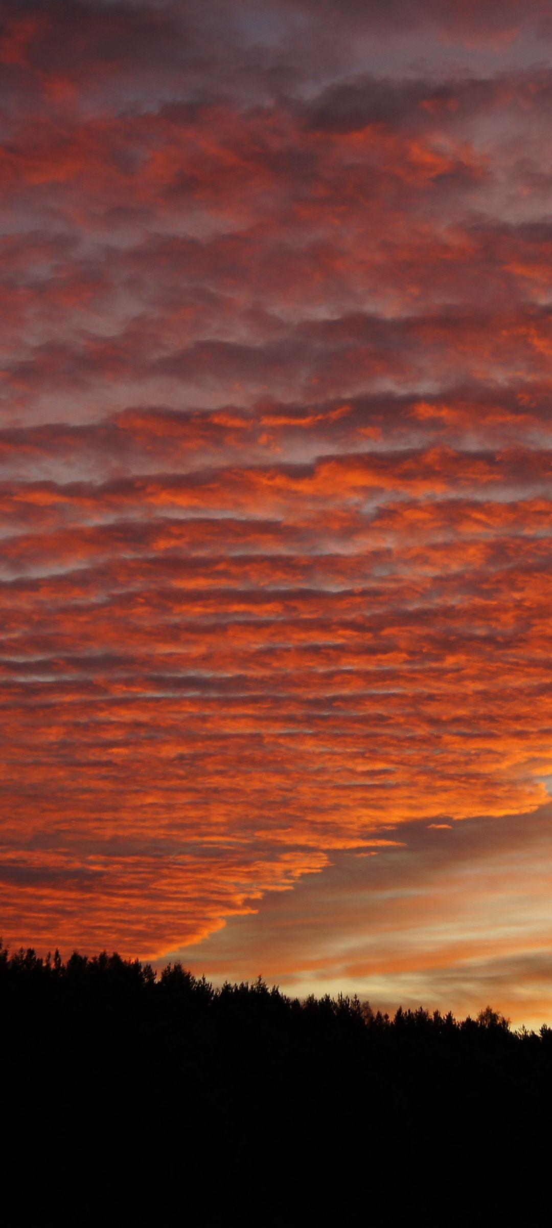 Sky Clouds Sunset Beautiful