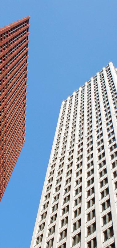 Skyscrapers Buildings Sky Wallpaper 1440x3040 380x802