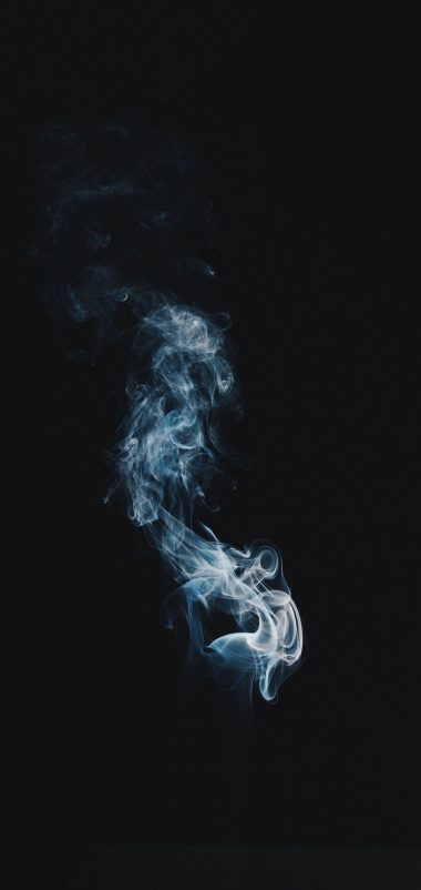 Smoke Clot Darkness Wallpaper 1440x3040 380x802
