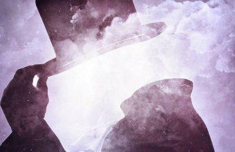 Smoky Man Blur Wallpaper 1440x3040 340x220