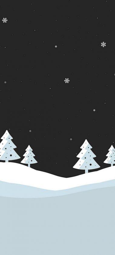 Snowfall Minimal 1080x2400 380x844
