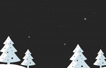 Snowfall Minimal Wallpaper 1440x3040 340x220