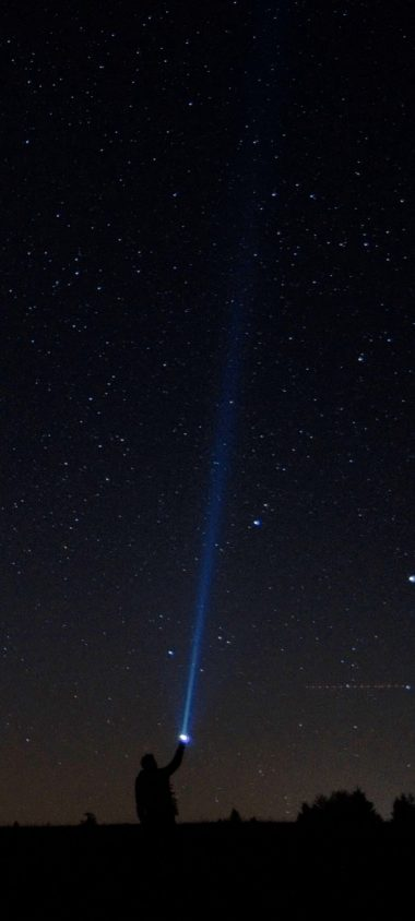 Starry Sky Man Lantern Night 1080x2400 380x844