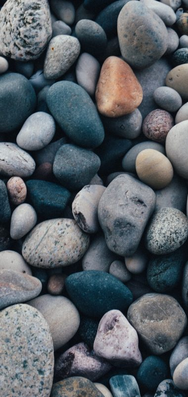 Stones Sea Pebble Wallpaper 1440x3040 380x802