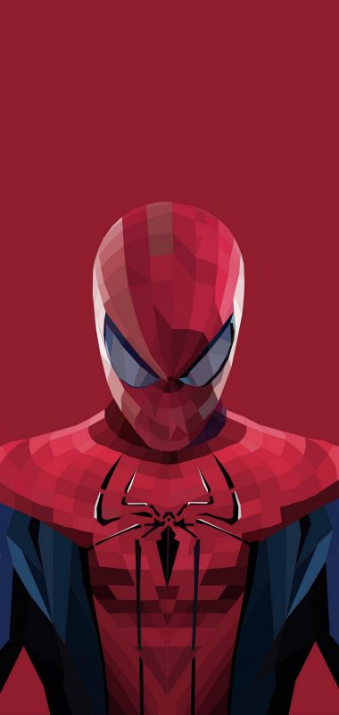 Superhero Spiderman Cartoon Wallpaper 1440x3040 380x802