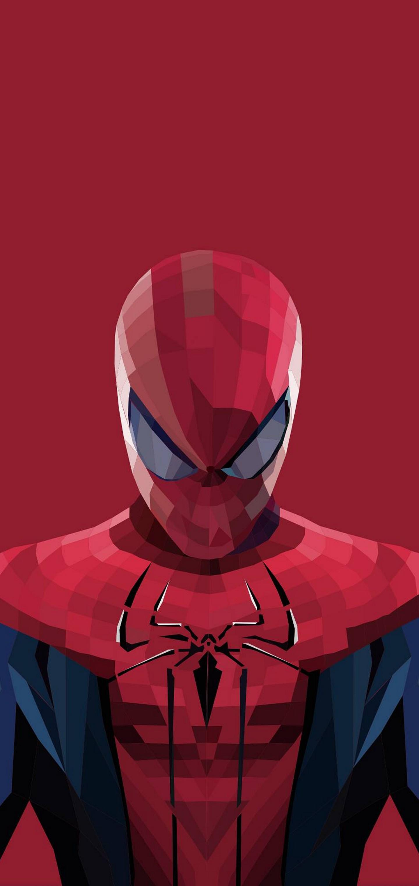 Superhero Spiderman Cartoon Wallpaper 1440x3040