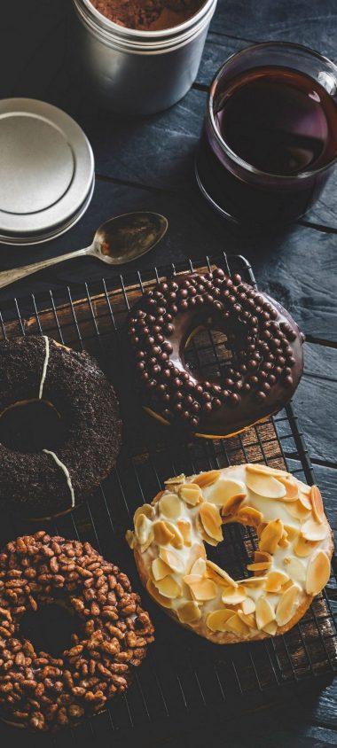 Sweet Donuts Icing Tea 1080x2400 380x844
