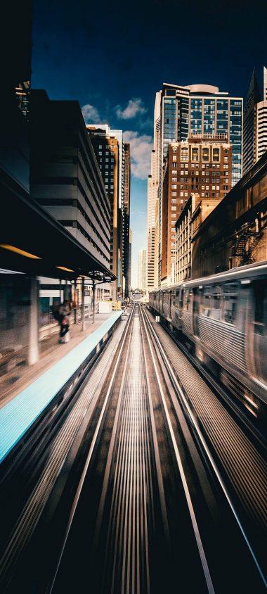 Train Track Station 1080x2400 380x844