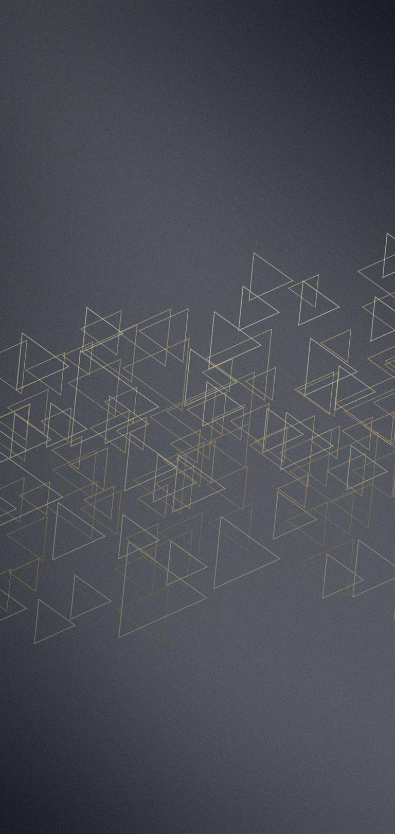 Triangles Icon Texture Wallpaper 1440x3040 768x1621
