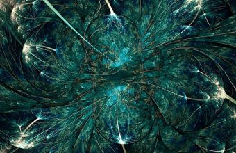 Twisted Abstract Pattern Fractal Wallpaper 1440x3040 340x220