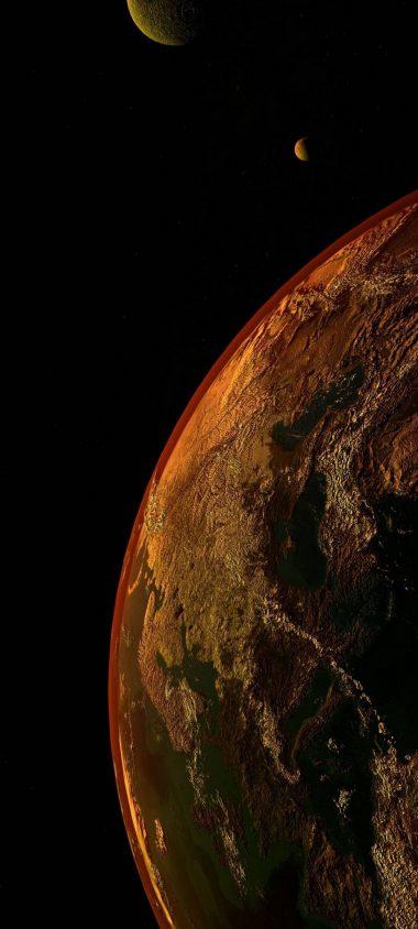Universe Planet Space 1080x2400 380x844