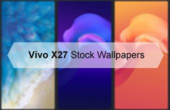 Vivo X27 Stock Wallpapers