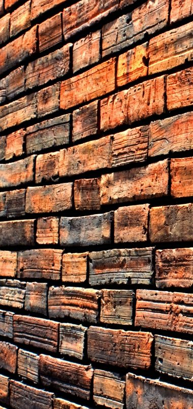 Wall Brick Side Wallpaper 1440x3040 380x802