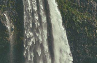 Waterfall River Cascade Wallpaper 1440x3040 340x220