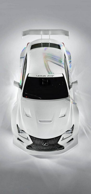 White Car Lexus Wallpaper 1440x3040 380x802