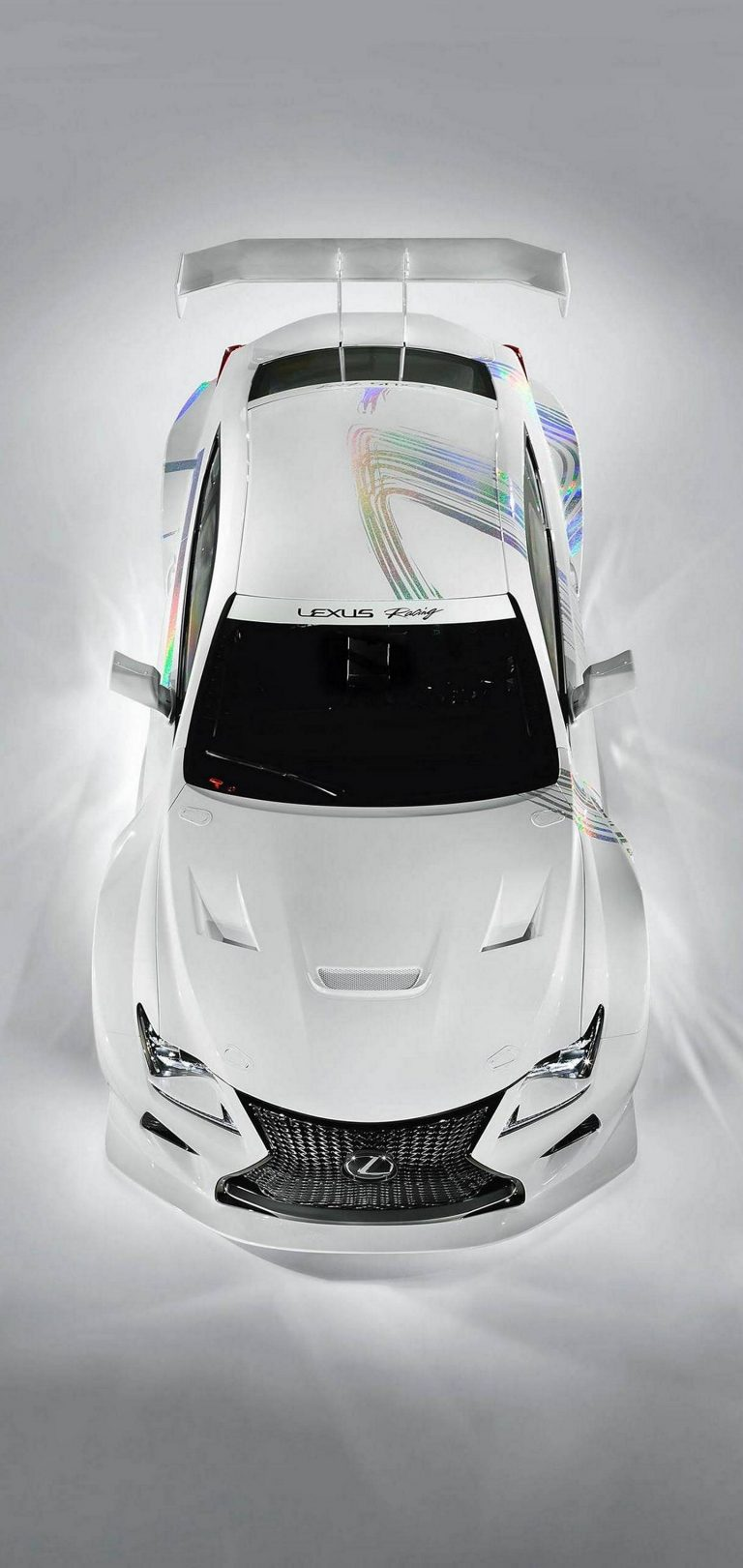 White Car Lexus Wallpaper 1440x3040 768x1621