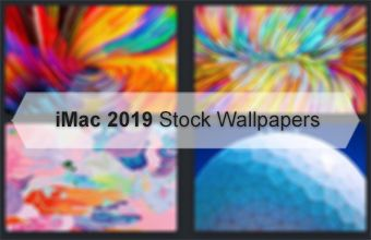 iMac 2019 Stock Wallpapers