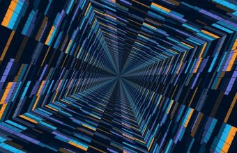 Abstract 3D Blocks 1080x2460 340x220