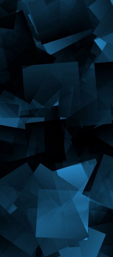 Abstraction Shapes Dark Background 1080x2460 380x866